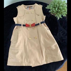 Girls trench dress